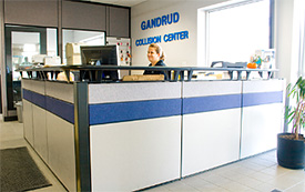 Gandrud Auto Body Shop Service Center in Green Bay, WI
