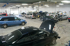 Auto Body Shop Technologies at Gandrud in Green Bay, WI